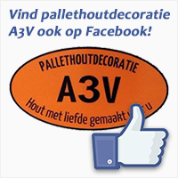 Pallethoutdecoratie A3V op Facebook